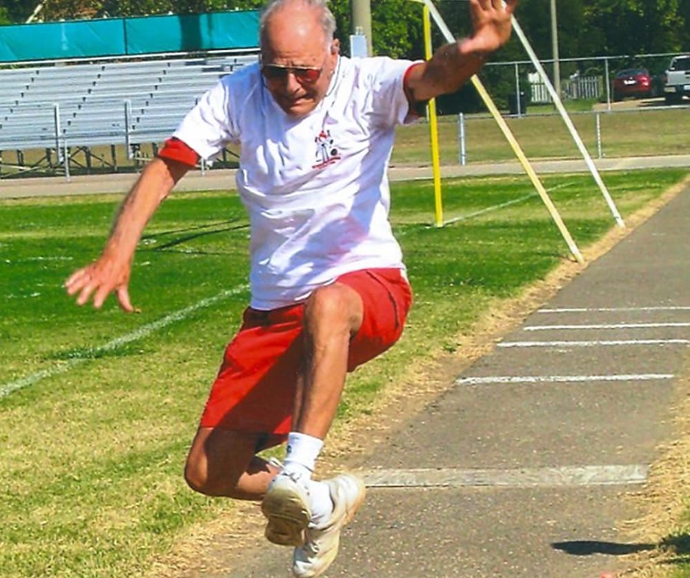 Bob Stewart, Senior Olympics Gold Medalist, Age 95