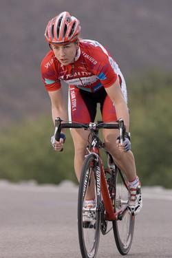 Monique Hanley--former pro cyclist