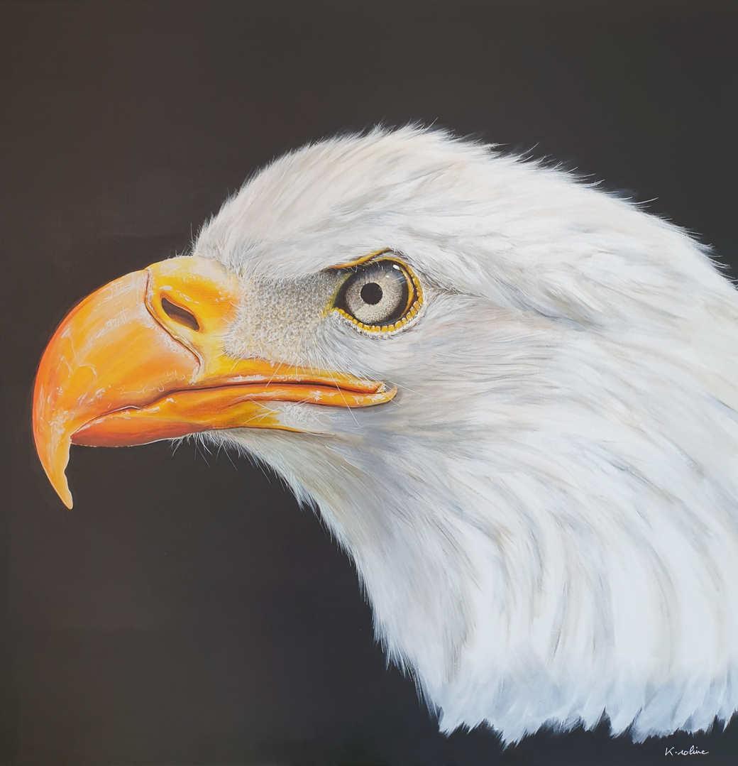 """Eagle - """"I nailed your beak"""""""