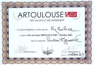 """Prix catégorie """"Peinture Figurative"""""""