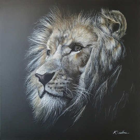 "Lion - ""Sois fort"""