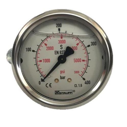 Pressure Gauge 400Bar