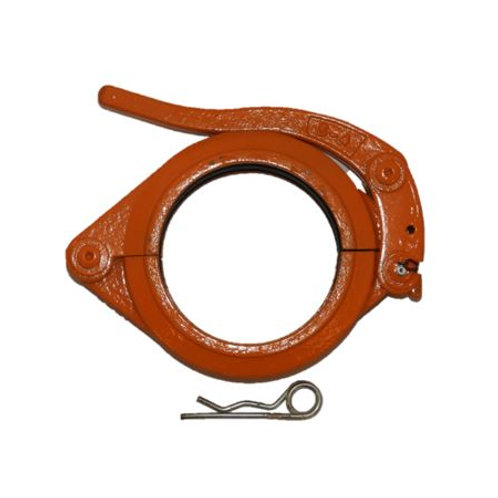 "4"" Lever Style Safety Clamp"