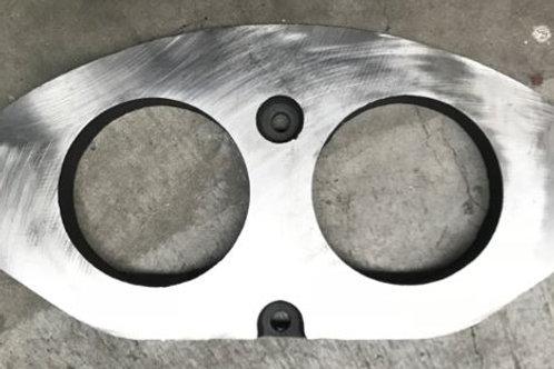 """4½"""" Wear Plate (Transcrete)"""