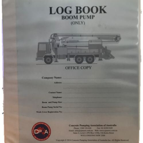 Log Book in Folder (Office Copy)