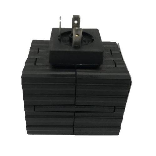 Solenoid Coil 12V (Black)