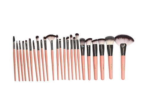 PEACH BRUSH SET