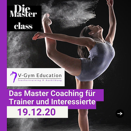 Masterclass Seminar