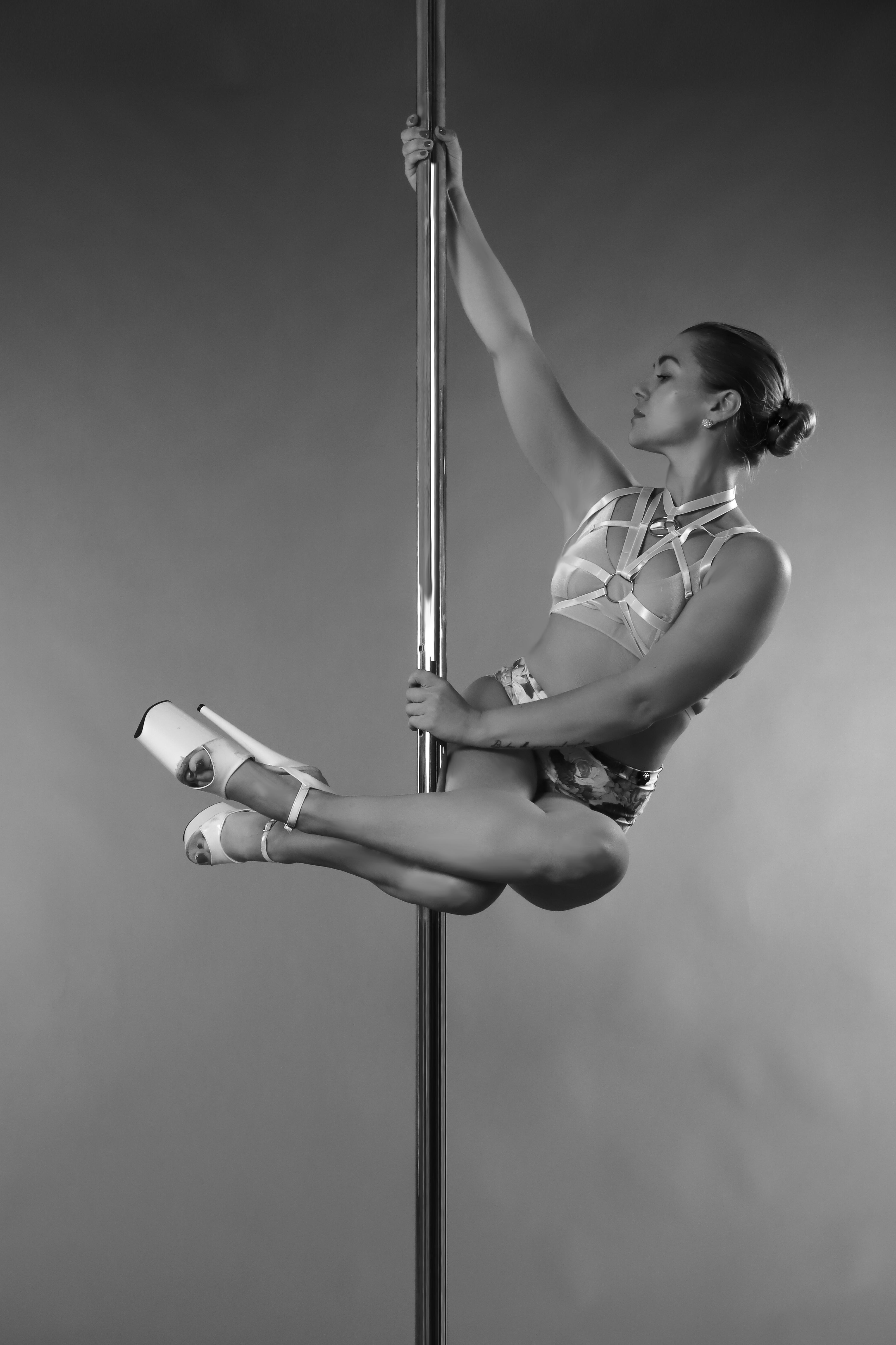 Poledance im Verticals Gym  Shooting