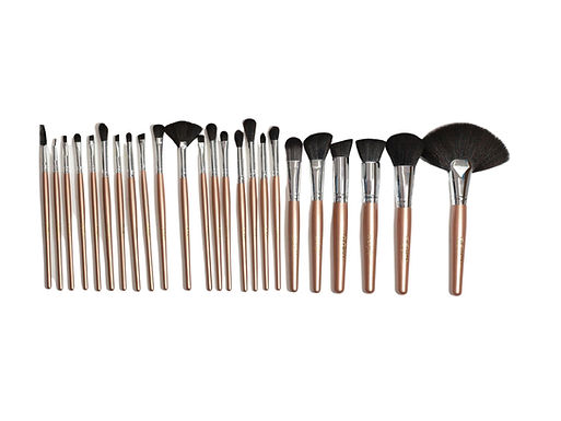 ROSEGOLD BRUSH SET