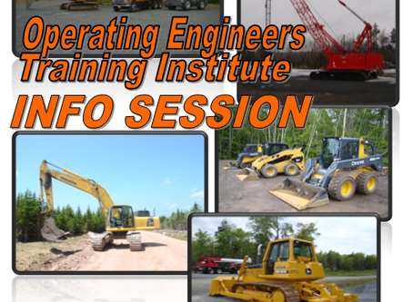 Operating Engineers Training Institute - Info Session