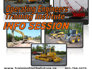 Operating Engineers Training Institute Info Session