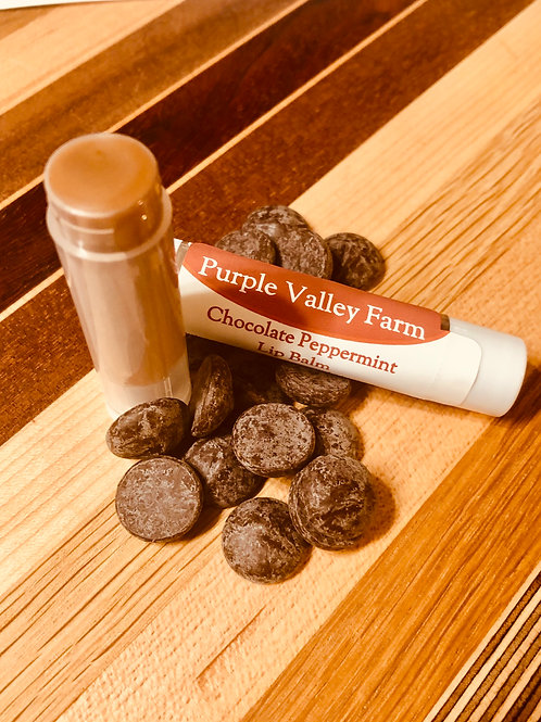 Chocolate Peppermint Lip Balm