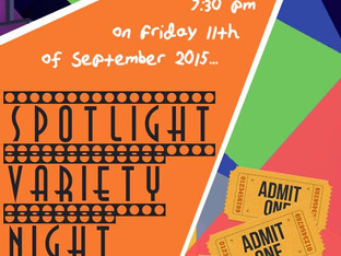 Come & watch us at 'Spotlight Variety Night'