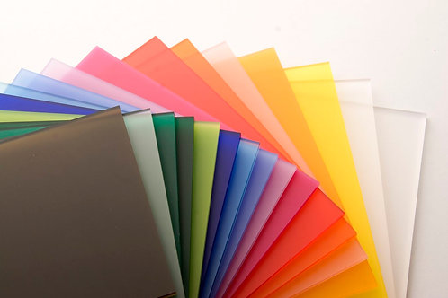 6mm Acrylic Perspex Sheet 2440x1220x6mm (coloured)