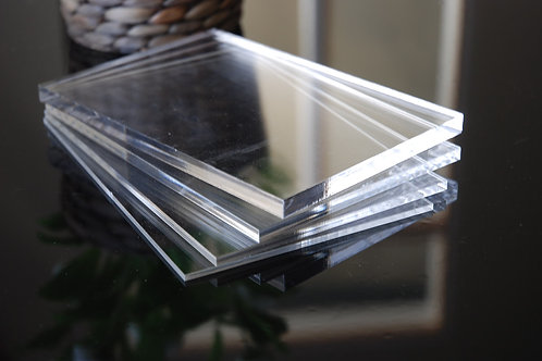 Acrylic Clear Perspex Sheet (2440x1220mm Full Sheet)