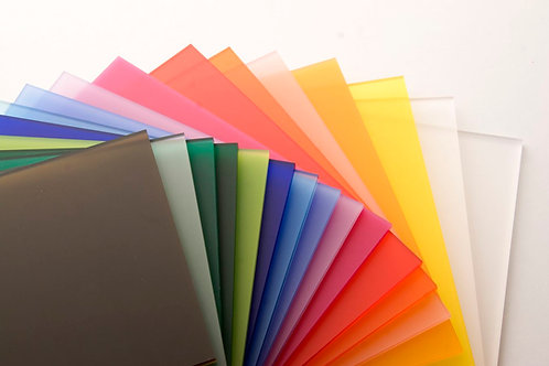 3mm Acrylic Perspex Sheet 2440x1220x3mm (coloured)