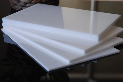 Acrylic White 10mm Perspex Sheet 2440x1220x10mm