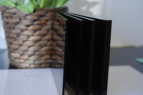 Acrylic Black 3mm Perspex Sheet 2440x1220x3mm