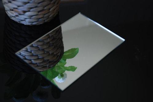 Silver Mirror Acrylic 3mm Perspex Sheet 2440x1220x3mm