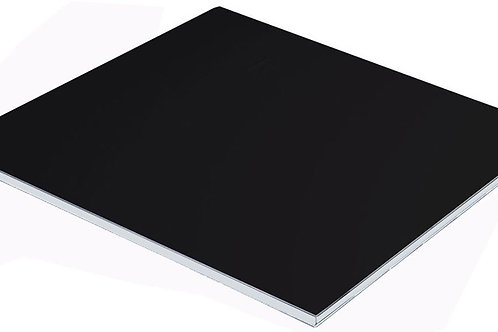 2440x1220x3/0.21mm Matte Black/Matte White ACP