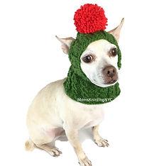 MomsKnittingNYC_ChristmasDog_GreenRed_El