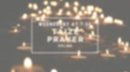 Taize Prayer Flyer