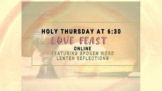 Holy Thursday Flyer