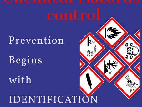Chemical hazards in the Workplace