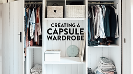 Transferring our Chaotic Wardrobe to a Capsule Wardrobe   Part 2 Spring