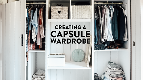 Transferring our Chaotic Wardrobe to a Capsule Wardrobe | Part 2 Spring