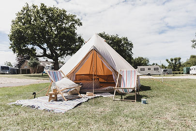 POST-LOCKDOWN GLAMPING IN DORSET | We take the bell tent to a campsite | Episode 001 Vincent Living