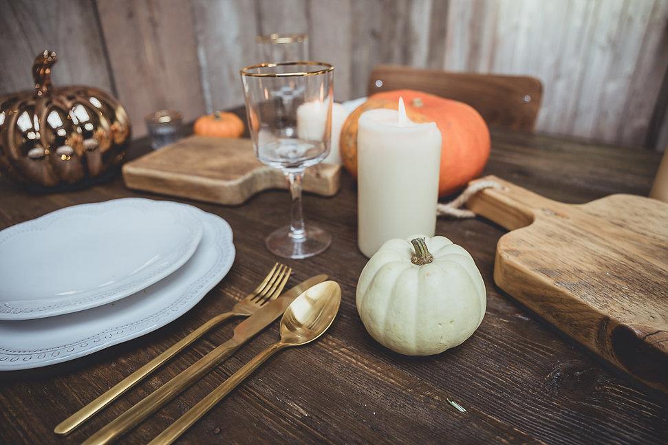 Pumpkin Table Styling