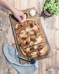 Homemade Pizza & Garlic Bread Recipe