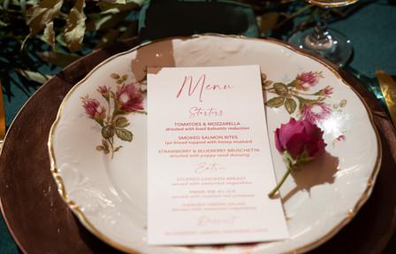 Stationary: Gold Wedding Designs