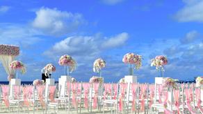 A list of destination wedding considerations.