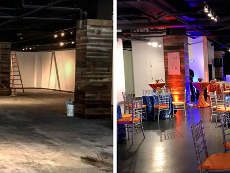 Transforming little into much with event spaces.
