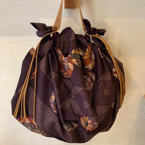 Furoshiki tela japonesa TEMARI purpura (pelota de mano)