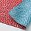 Thumbnail: Furoshiki doble faz CRISANTEMOS azul y rojo