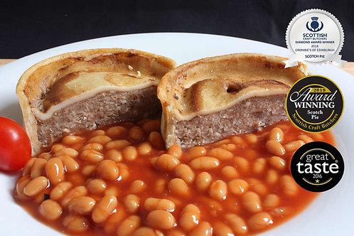 Cooked Scotch Pies (Multi Award Winning)