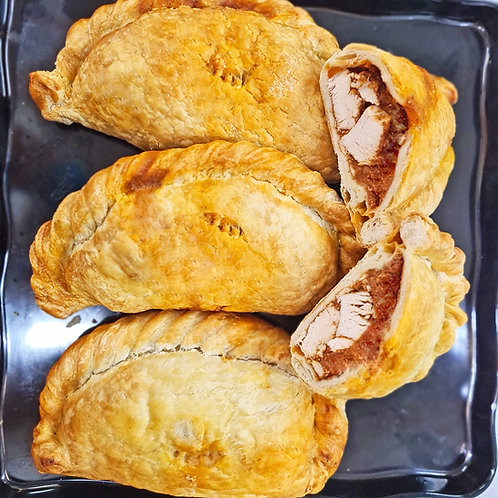 Cooked Ruby Murray Chicken Curry Pies