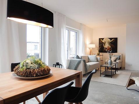 Rohbau Penthousewohnung nachher