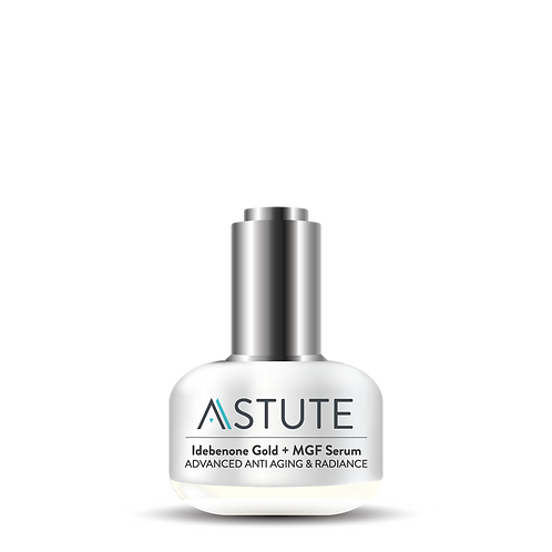 ASTUTE Idebenone Gold + MGF Serum (30ml)