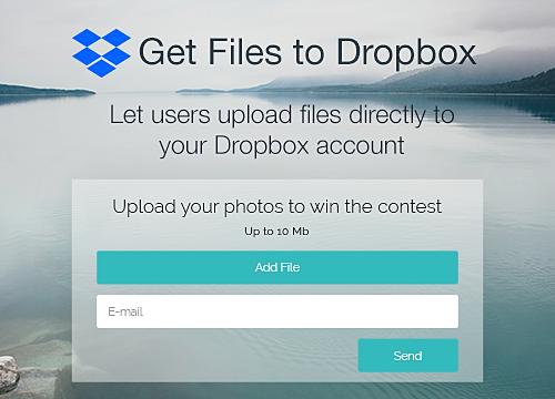 Get Files to Dropbox Overview   WIX App Market   Wix com