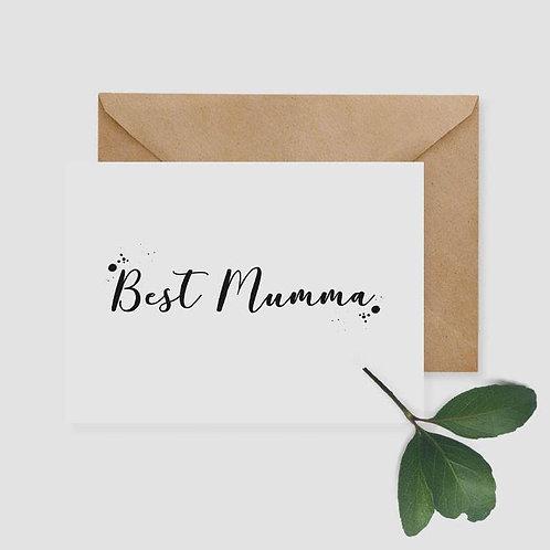 Best Mumma Card