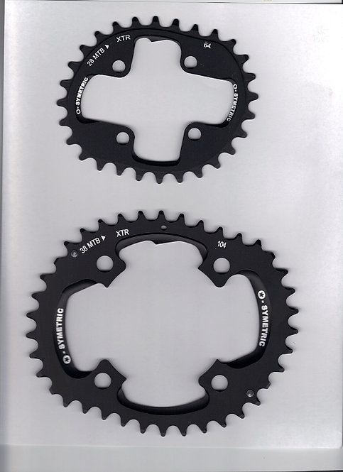 Shimano XTR Compatible Chain Ring Set