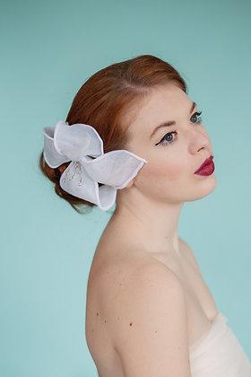 Organdy Hair Flower