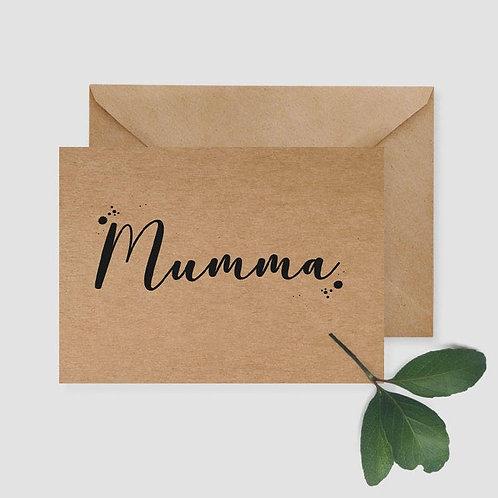 Mumma card