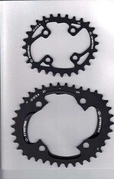 Shimano XT785 Compatible Chain Ring Set