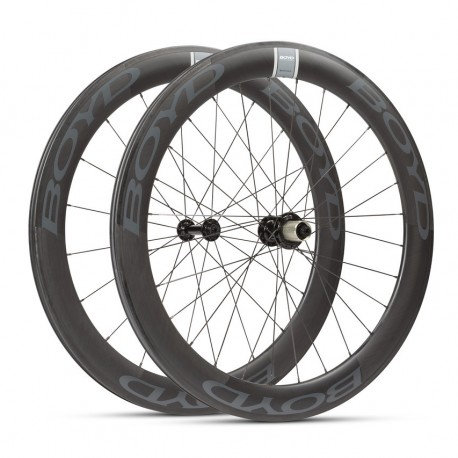 Boyd Cycling-60MM TUBULAR WHEEL SET